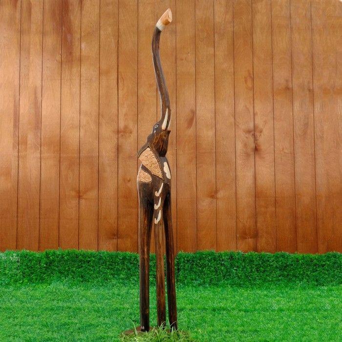 """Сувенир """"Слон Цвети"""", 100 см"""