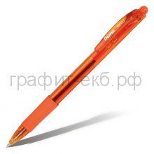 Ручка шариковая Pentel BK417 Wow матовый корпус оранжевая