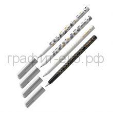 Ручка шариковая Schneider Tops-505F синяя Tropical c принтами 151500