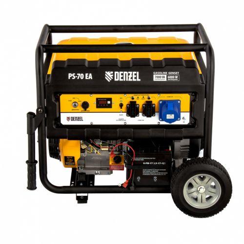 Генератор бензиновый PS 70 EA Denzel