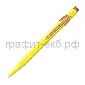 Ручка шариковая Caran d'Ache Office 849 Claim your style2 Canary Yellow 849.537