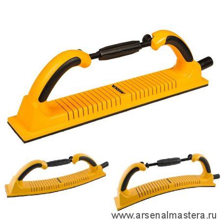 Ручной шлифовальный блок Premium 70 х 400 мм 53 отверстия гибкий липучка MIRKA 8391150111