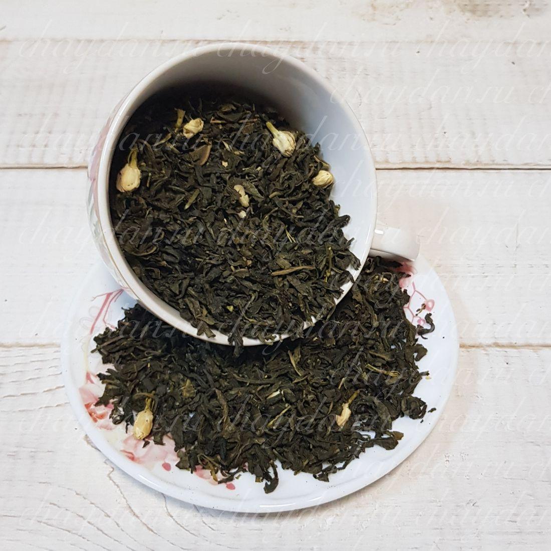 Моли хуа ча с бутонами жасмина (50 г.)