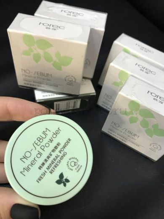 ОРИГИНАЛ Минеральная пудра для матирования ROREC Fresh Skin универсальная