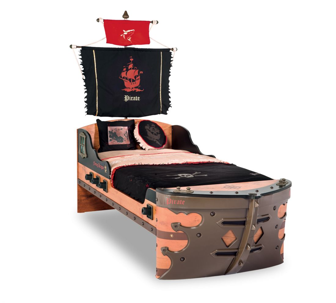 Pirate Кровать-корабль, сп. м. 90х190