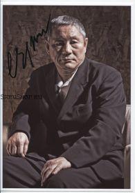 Автограф: Такеши Китано