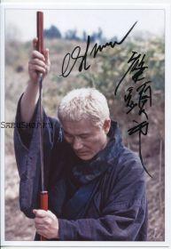 Автограф: Такеши Китано. Затоiчи