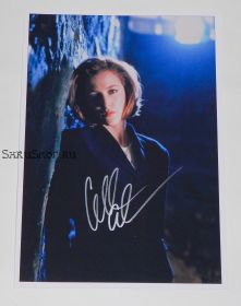 Автограф: Джиллиан Андерсон. Секретные материалы / The X Files
