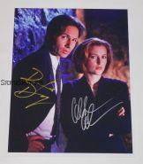 Автографы: Дэвид Духовны, Джиллиан Андерсон. Секретные материалы / The X Files