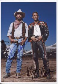 Автографы: Микки Рурк, Дон Джонсон. Харлей Дэвидсон и ковбой Мальборо