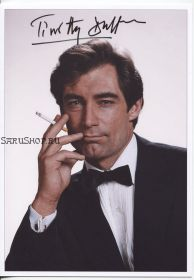 "Автограф: Тимоти Далтон. ""Бондиана"". ""Джеймс Бонд"". ""Агент 007"""