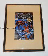 Автограф: Стэн Ли. На комиксе Человек Паук 1989 года. Редкость