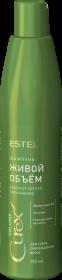 """Шампунь """"Живой объём"""" для сухих, повреждённых волос CUREX VOLUME, 300 мл"""