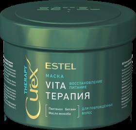 """Маска """"Vita-терапия"""" для повреждённых волос CUREX THERAPY, 500 мл"""