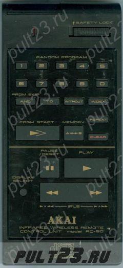 AKAI RC-80, CD-A7, CD-M88