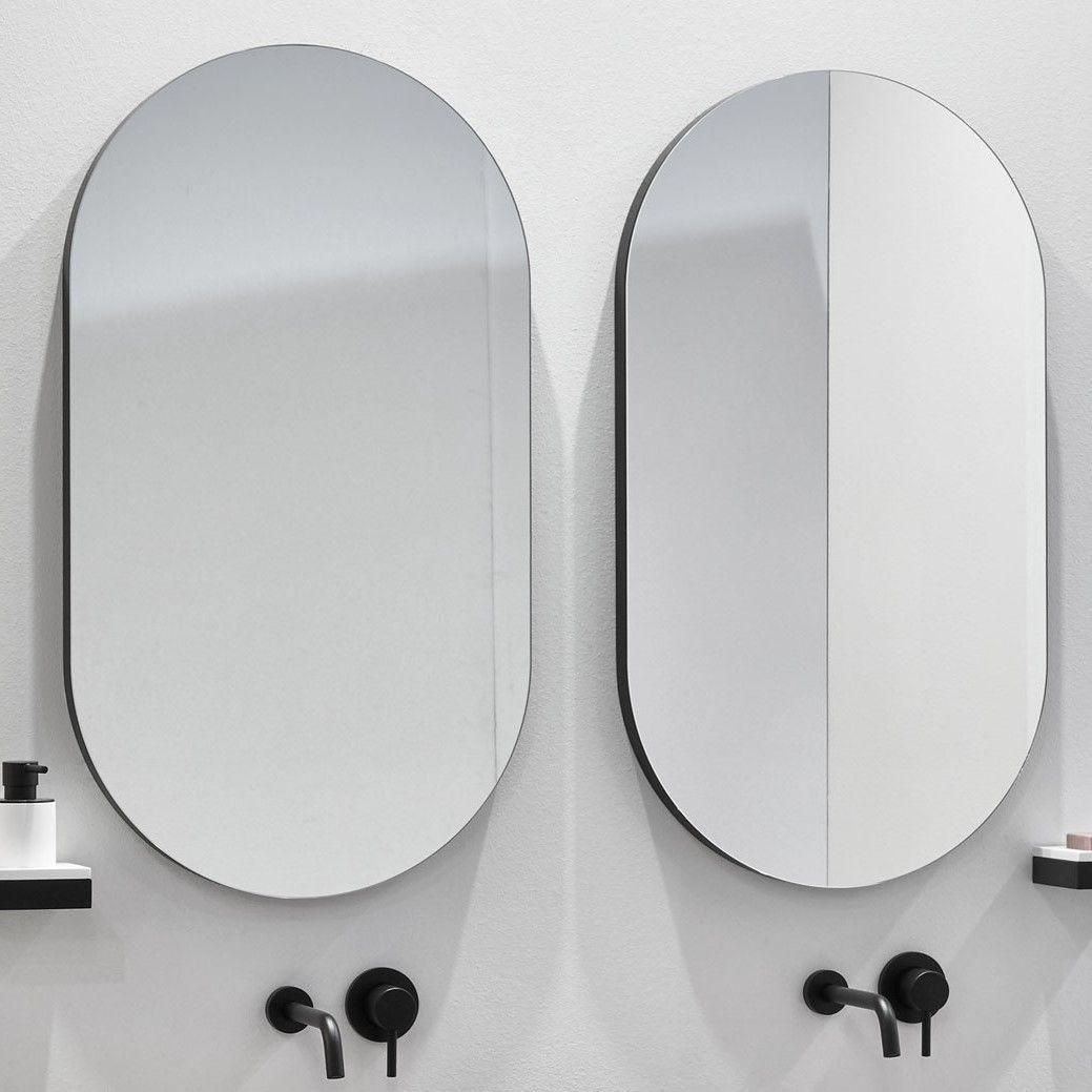 Овальное зеркало Cielo I Catini CASPO 50х90 ФОТО