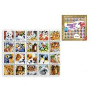 Мозаика алмазная по номерам 20*20см Животные Микс S-4329 Schreiber