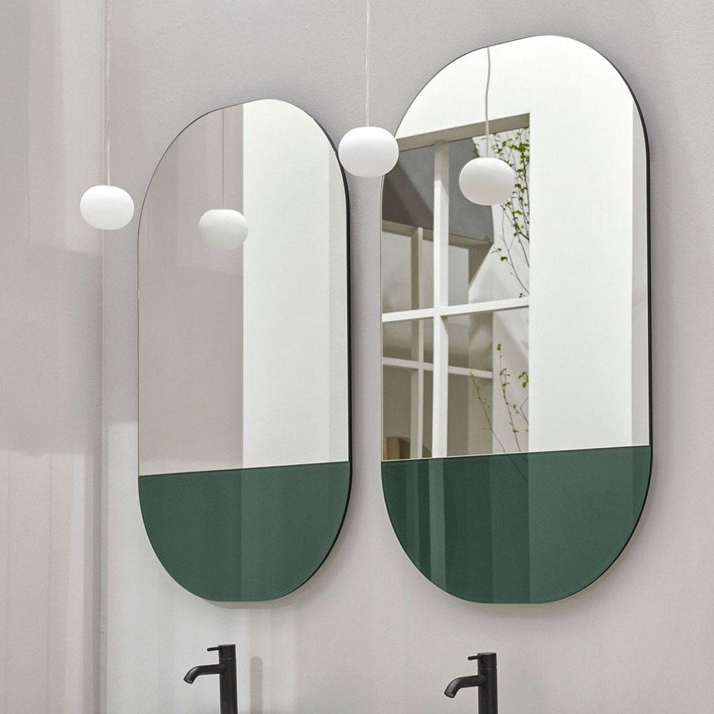 Зеркало с подсветкой Cielo Arcadia Eos SPEOBL двухцветное 67х107 ФОТО