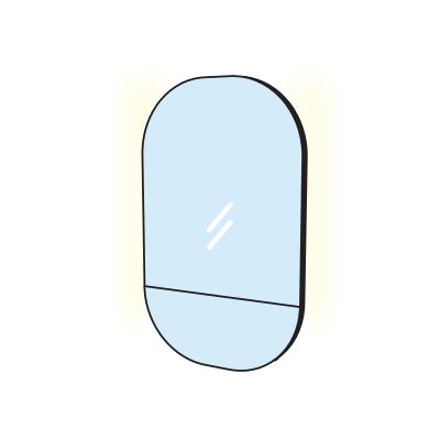 Зеркало с подсветкой Cielo Arcadia Eos SPEOL 67х107 ФОТО