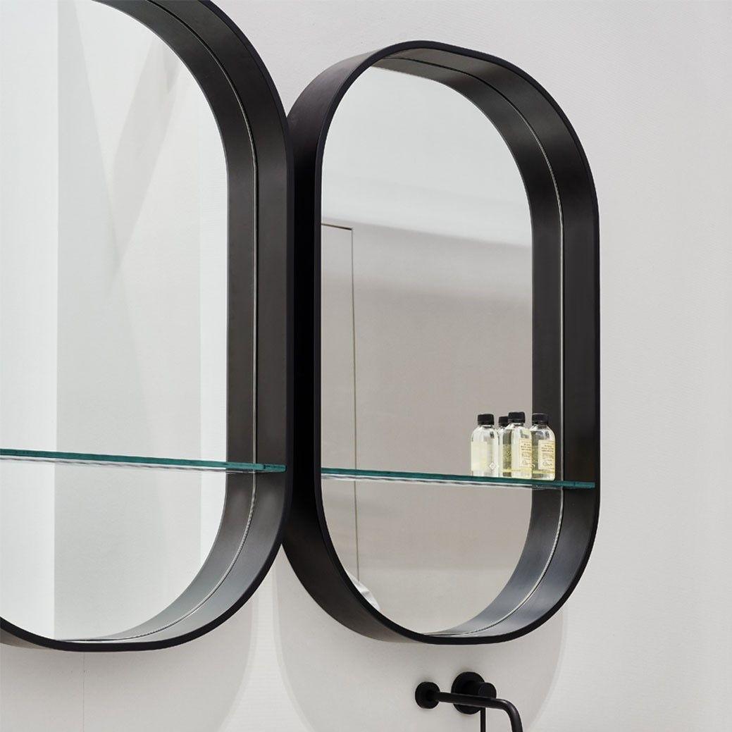 Зеркало со стеклянной полочкой Cielo Arcadia Eos-c SPEOML ФОТО