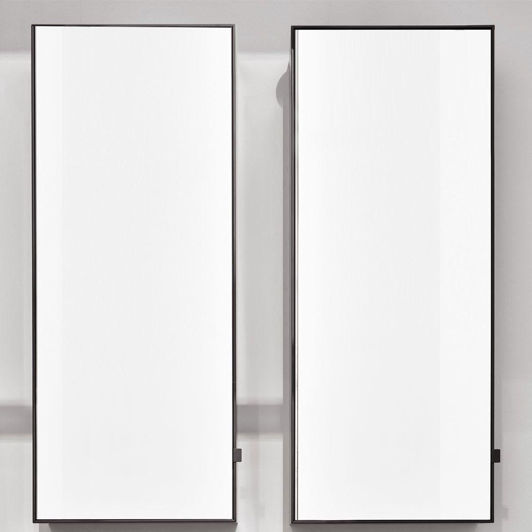 Вертикальный зеркальный шкафчик Cielo Arcadia Simple Tall Box SPSTB реверсивный 45х110 ФОТО