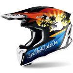 Airoh Twist 2.0 Lazyboy Gloss шлем внедорожный