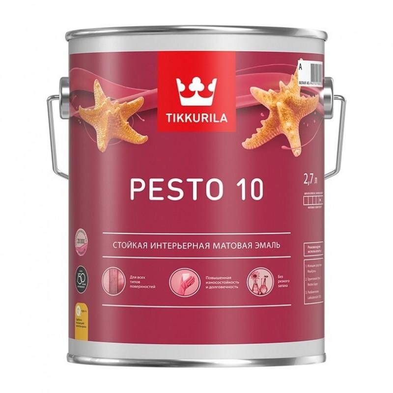 Евро Песто 10 краска матовая А 0,9л 700001164