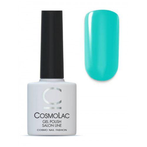 CosmoLac, гель-лак  №078, Карибский зеленый