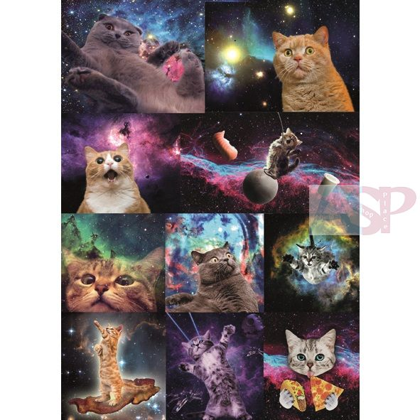 Стикеры Space Cats