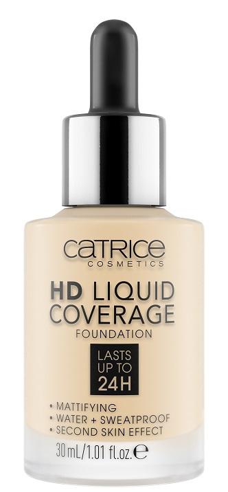 Тональная основа HD Liquid Coverage Foundation CATRICE