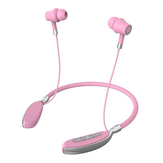 KADUM KD-384BT Розовые наушники - гарнитура (bluetooth)
