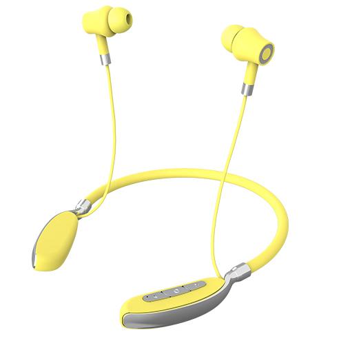 KADUM KD-384BT Желтые наушники - гарнитура (bluetooth)