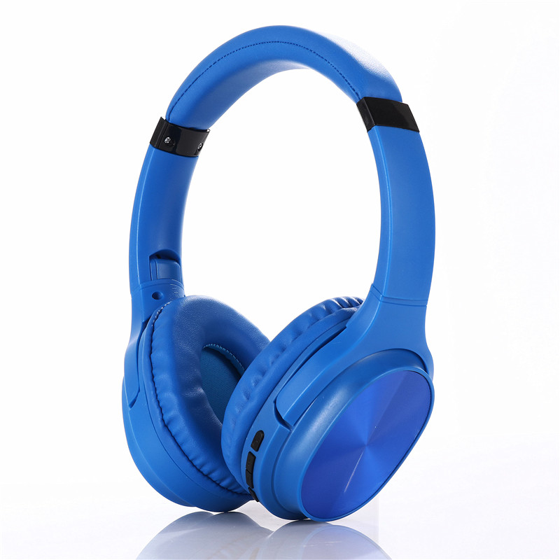 KADUM KD68 Синие наушники большие - гарнитура (bluetooth)