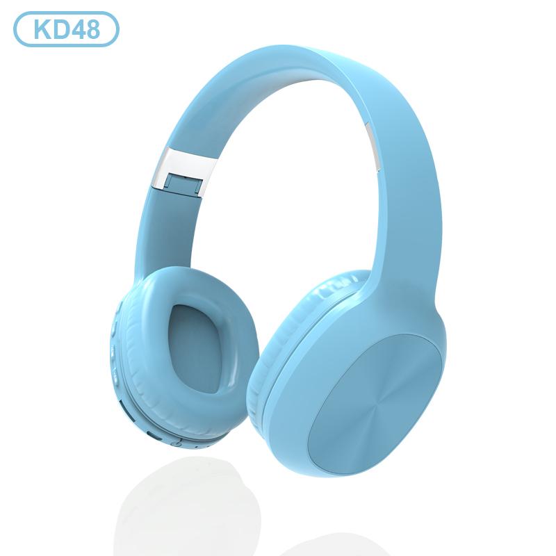 KADUM KD48 Голубые наушники большие - гарнитура (bluetooth)