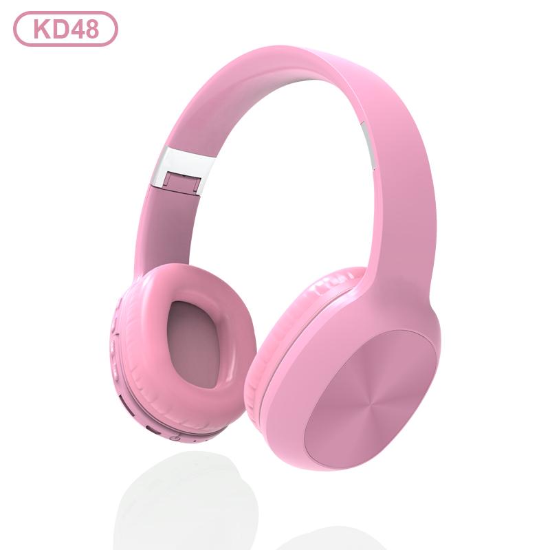 KADUM KD48 Розовые наушники большие - гарнитура (bluetooth)