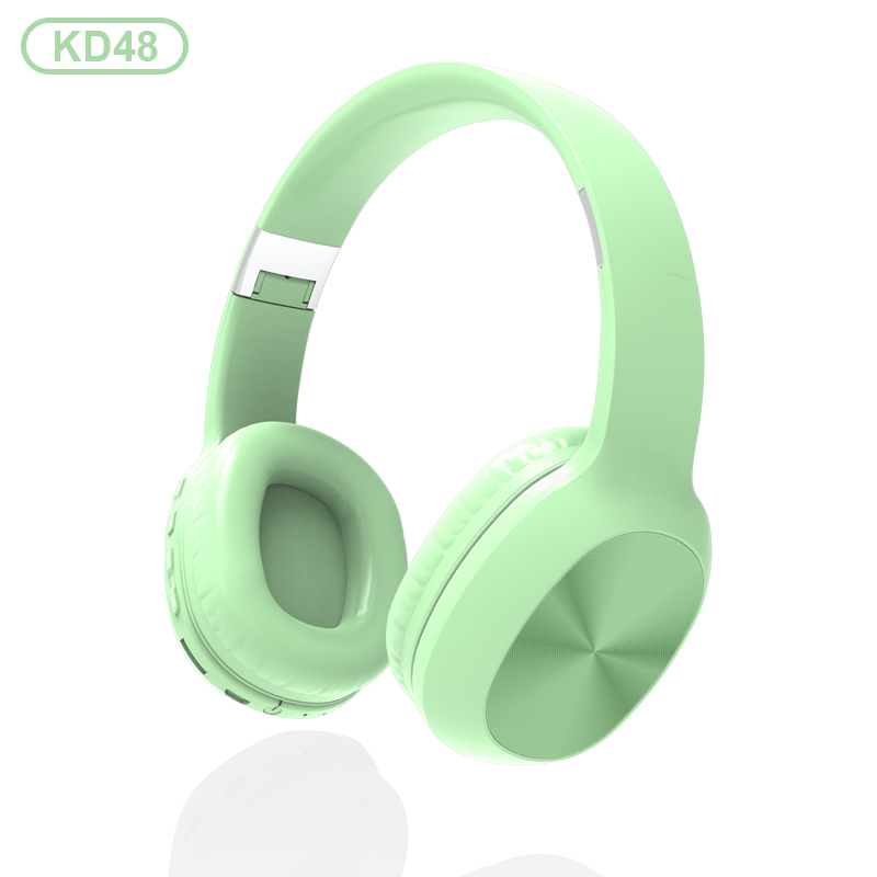 KADUM KD48 Зеленые наушники большие - гарнитура (bluetooth)