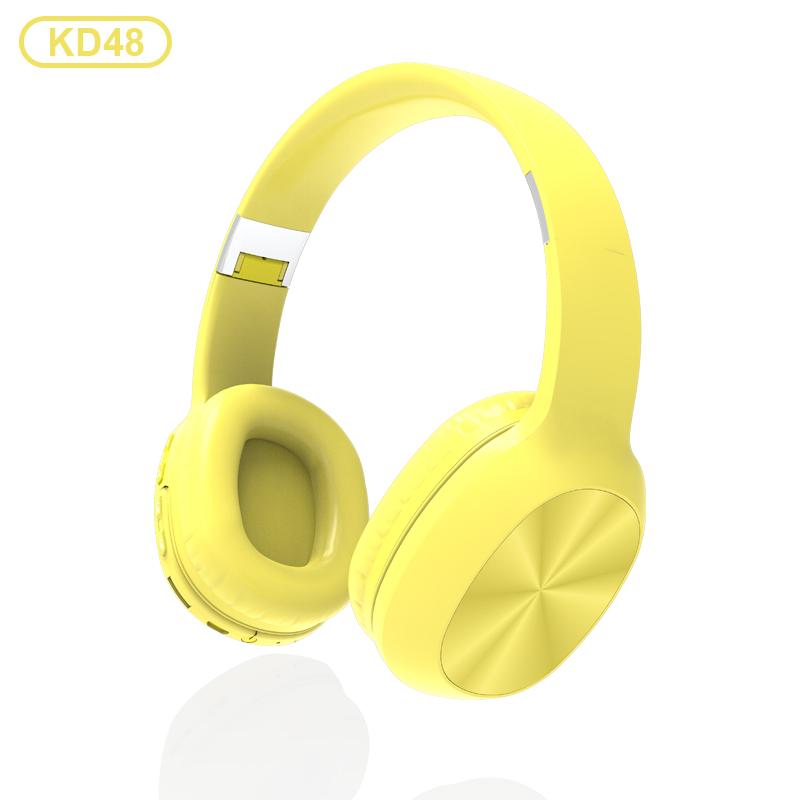 KADUM KD48 Желтые наушники большие - гарнитура (bluetooth)