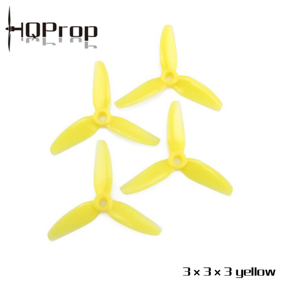 Пропеллеры HQProp 3X3X3 трёхлопастные (2 пары)