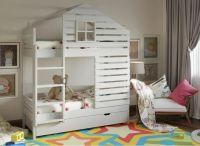 Кровать двухъярусная Домик Roof №41