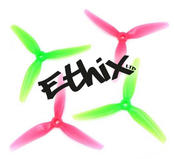 Пропеллеры Ethix S3 Prop Watermelon трёхлопастные (2 пары)