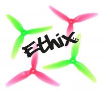 Купить пропеллеры Ethix S3 Prop Watermelon трёхлопастные (2 пары) интернет магазин для FPV пилотов QUADRO.TEAM