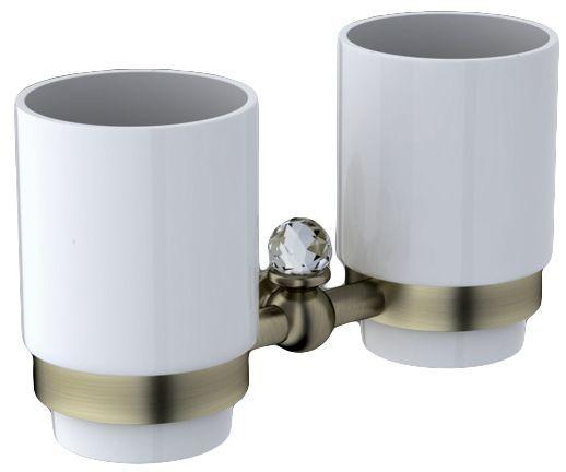 Два стакана Art&Max Antic Crystal AM-2688SJ-Br ФОТО