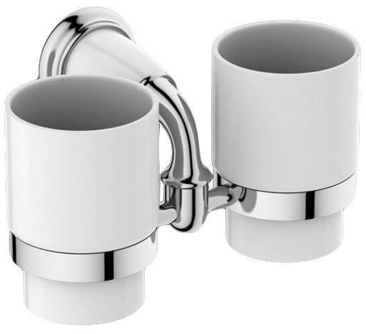 Два стакана Art&Max Bianchi (Бьянки) AM-3688AW-Cr ФОТО