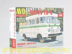 Сборная модель Автобус Тарту ТА-6
