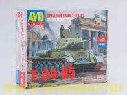 Сборная модель Средний танк T-34-85