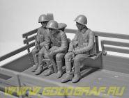 Советские военнослужащие (1979-1991), (5 фигур)