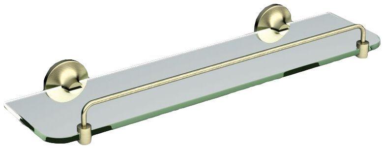 Полочка стеклянная Art&Max Bohemia AM-E-4282-Br ФОТО