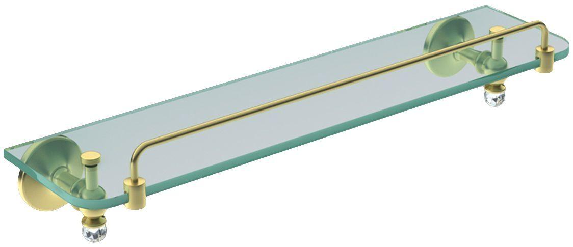Полочка стеклянная Art&Max Antic Crystal AM-2682SJ-Do ФОТО
