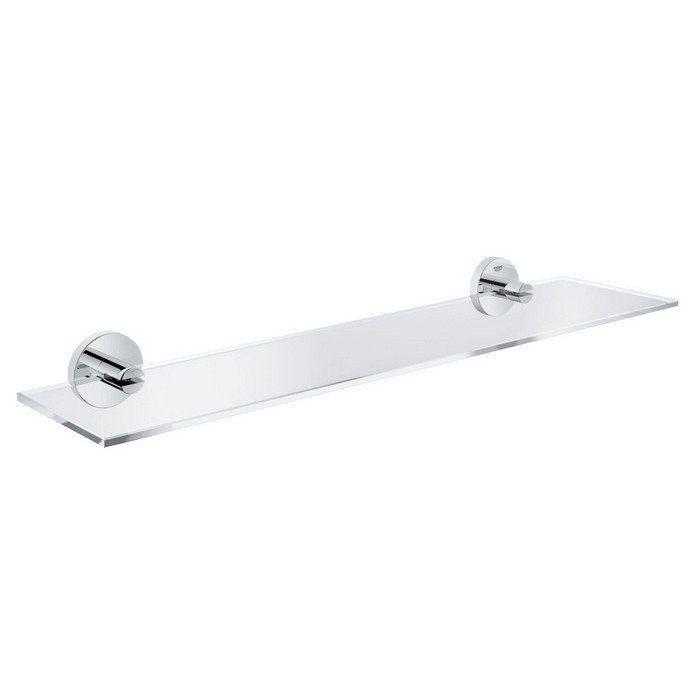 Полка стеклянная Grohe Essentials 40799001 ФОТО