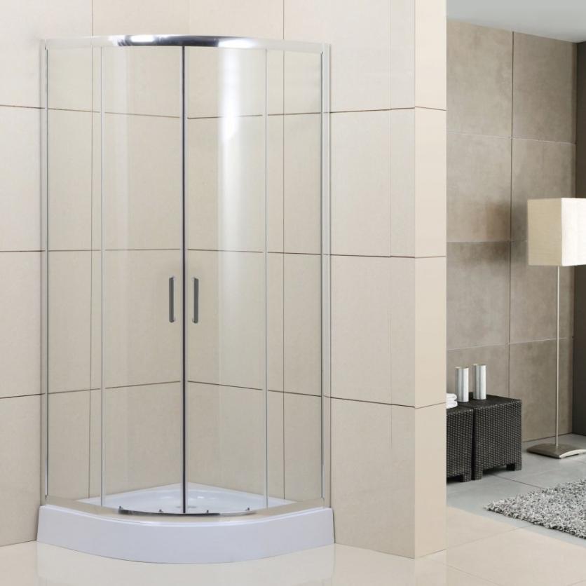 Душевой уголок Belbagno Uno-195 R прозрачное стекло, фурнитура хром ФОТО
